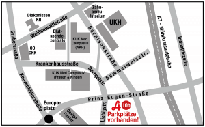 Lageplan Prinz Eugen Apotheke Linz